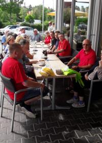 Treffen an der Bäckeria im Gewerbepark