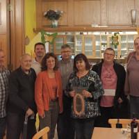 v.l.: Dieter Fritsch (2), Edi Schottenhammer, Markus Buchner, Irmgard Nagel, Erich Dannhäuser (alle OV-Röthenbach), Sonja Eckstein (Ring Stadtwurst), Timo Mitsch (1), Jörg Seifried (3)