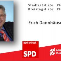 Spitzenkandidat Erich Dannhäuser